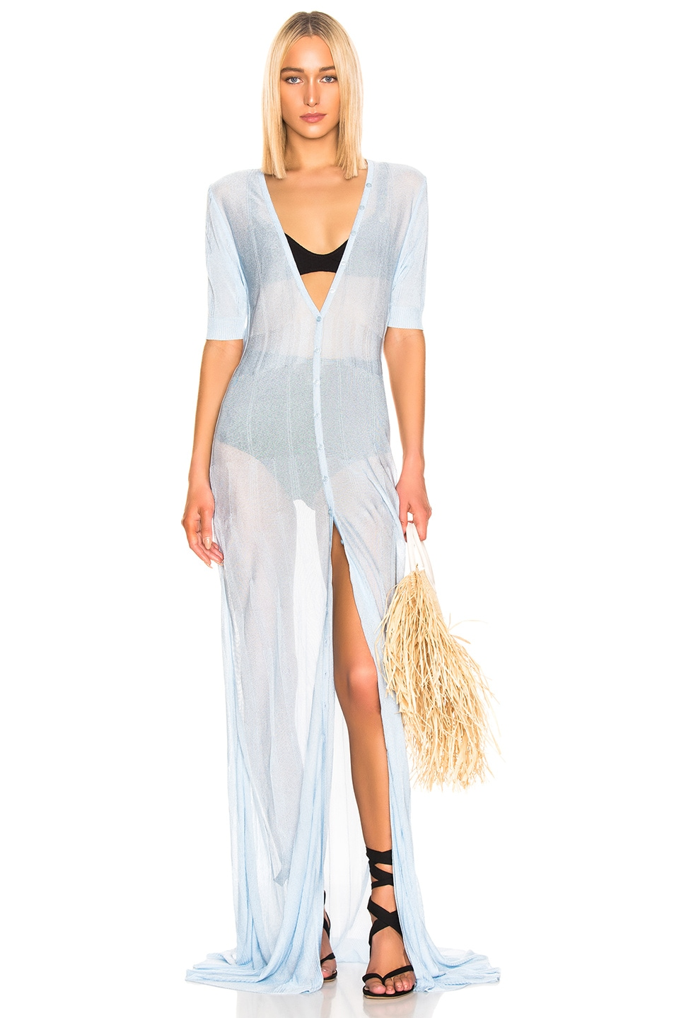 Image 1 of JACQUEMUS Dolcedo Dress in Baby Blue