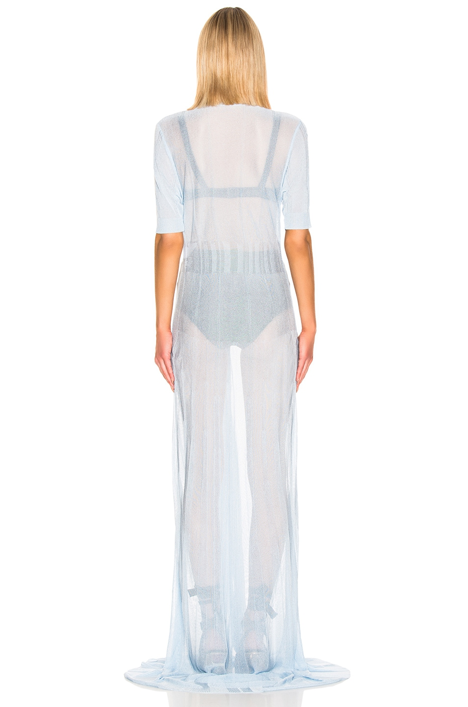 Image 3 of JACQUEMUS Dolcedo Dress in Baby Blue
