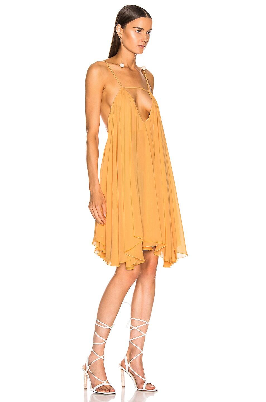 Image 2 of JACQUEMUS Bellezza Dress in Orange