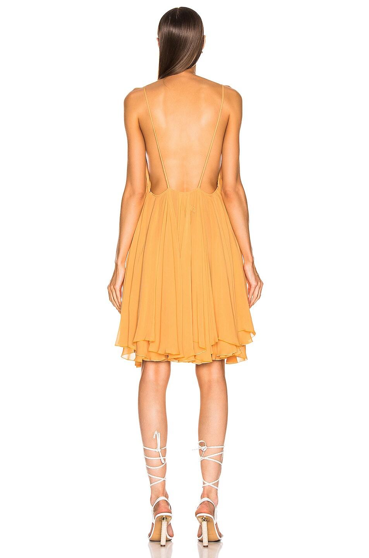 Image 3 of JACQUEMUS Bellezza Dress in Orange