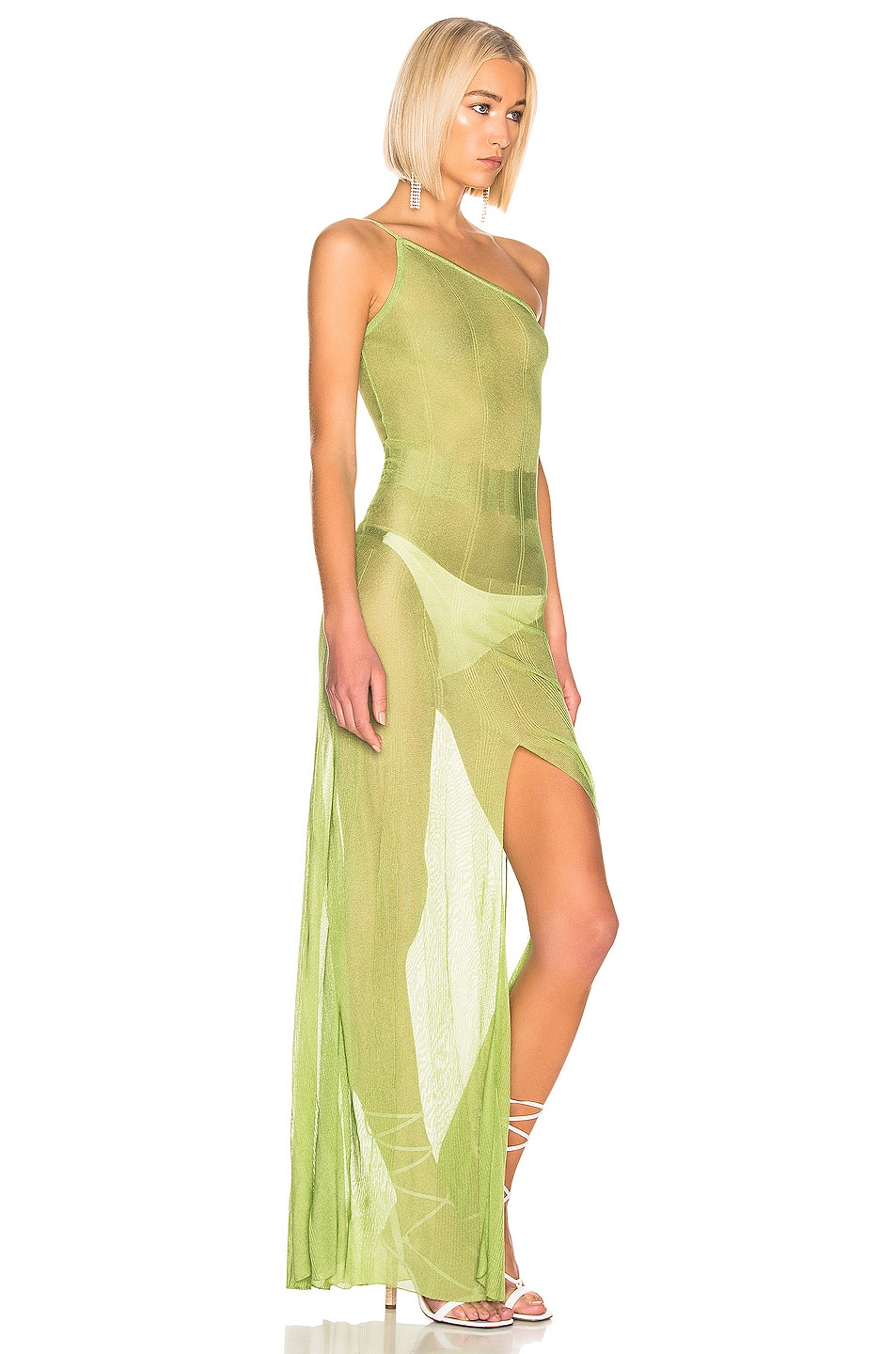 Image 2 of JACQUEMUS Calghera Dress in Green