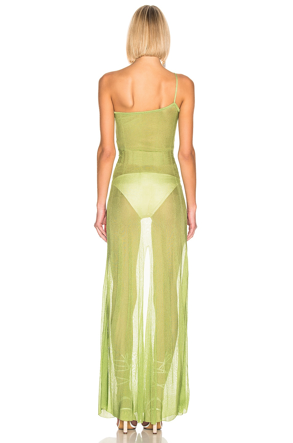Image 3 of JACQUEMUS Calghera Dress in Green
