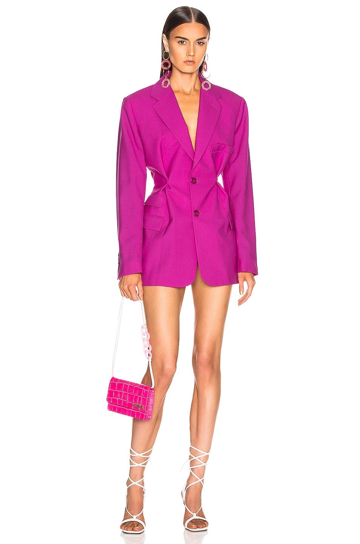 Image 1 of JACQUEMUS Raffaella Jacket Dress in Pink