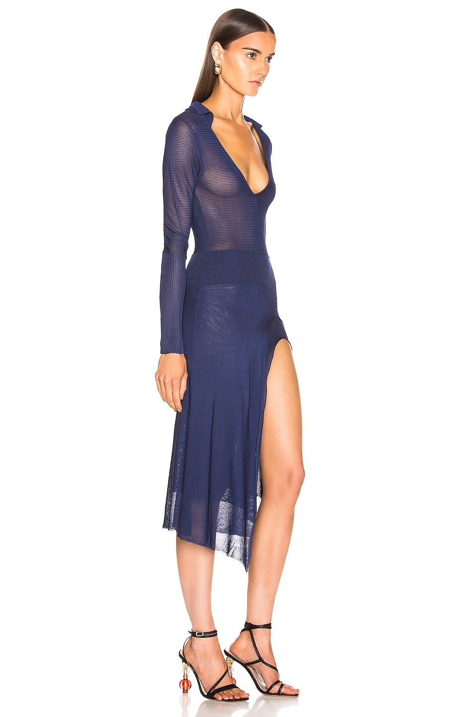 Image 2 of JACQUEMUS Notte Dress in Navy