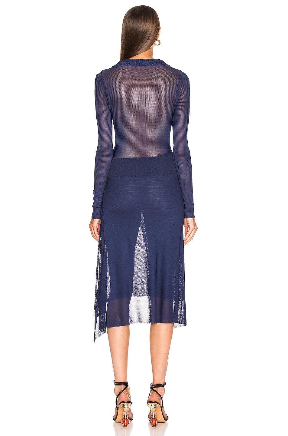 Image 3 of JACQUEMUS Notte Dress in Navy