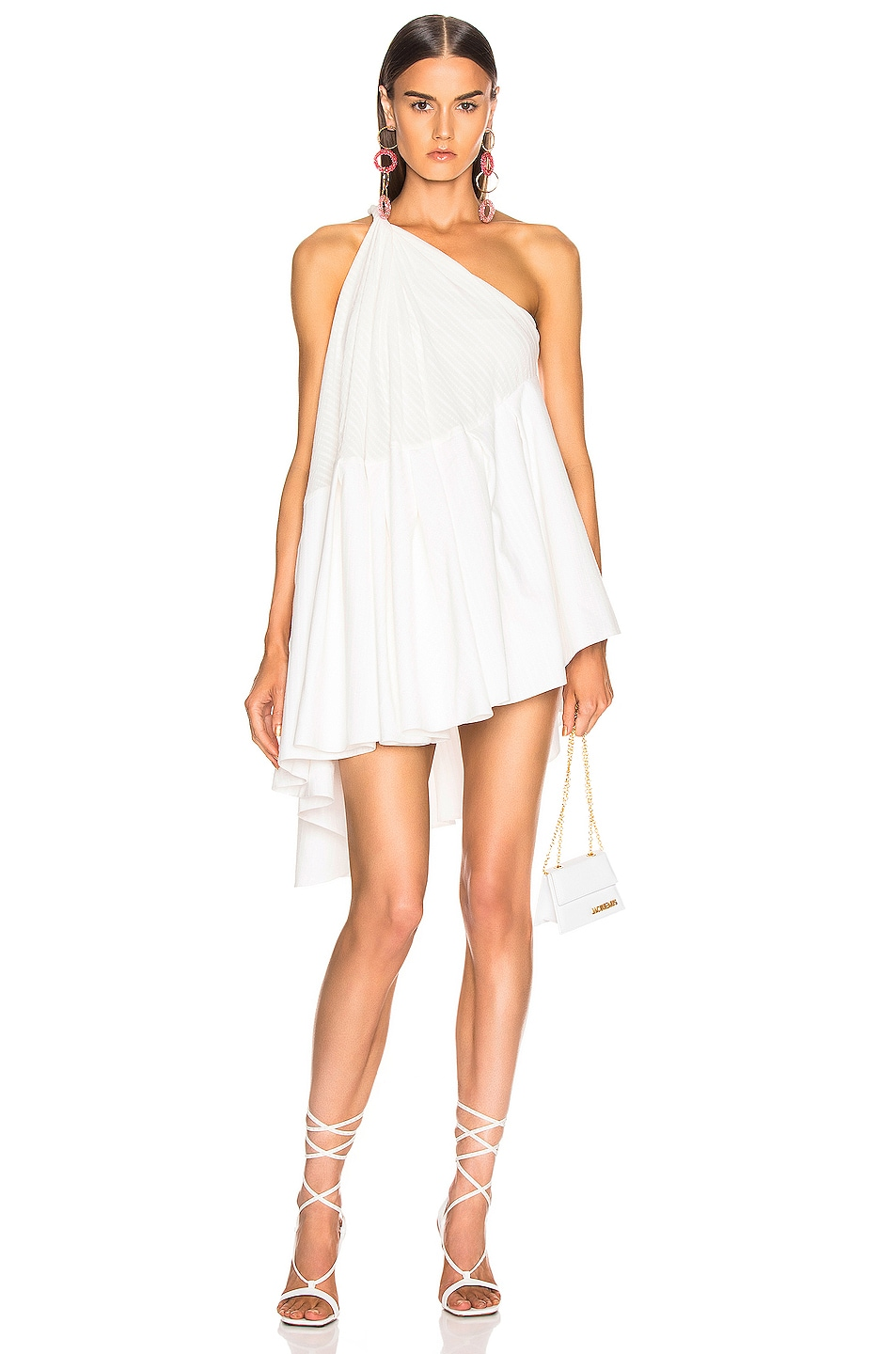 Image 1 of JACQUEMUS Affi Dress in Off White