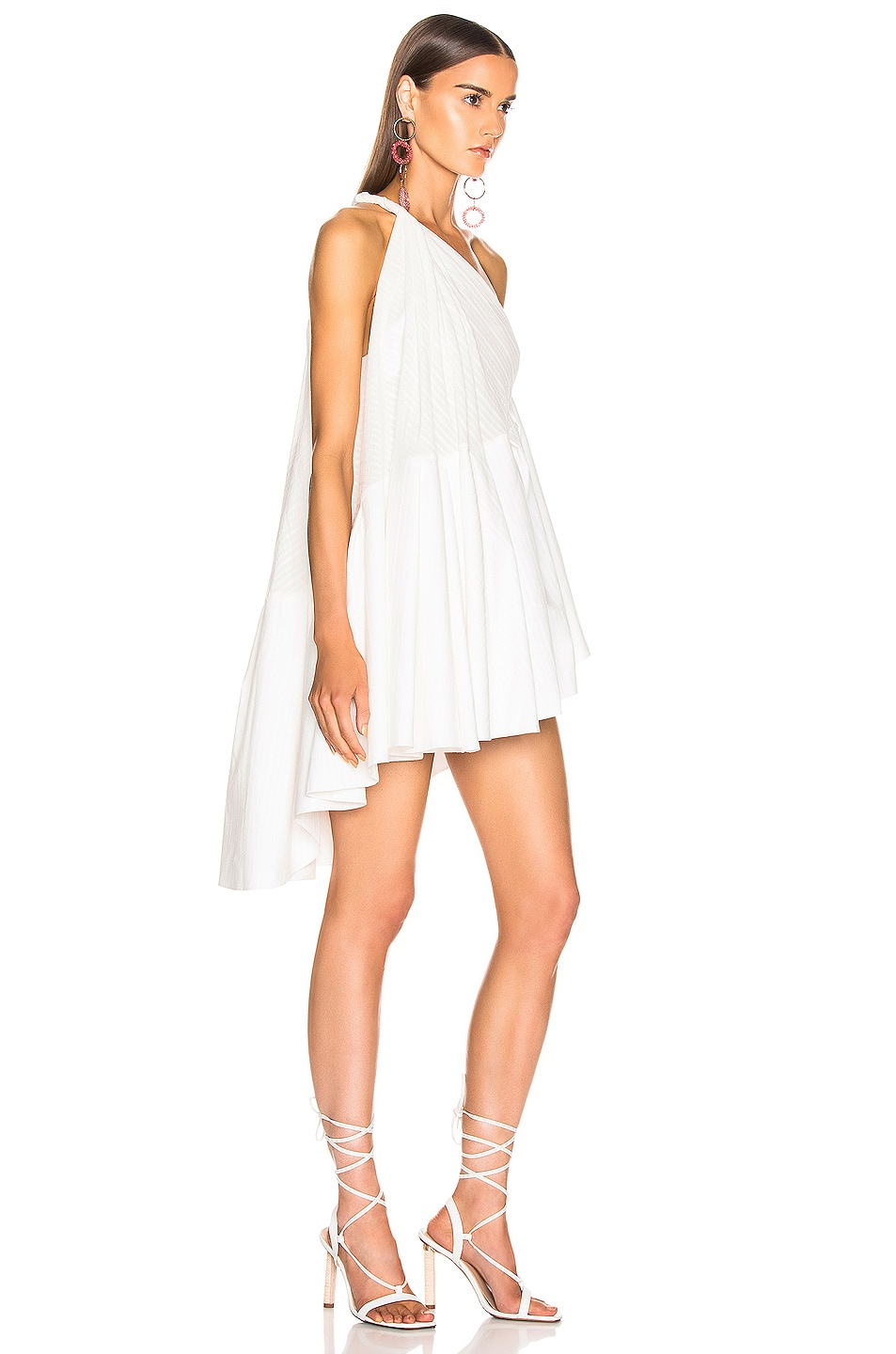 Image 2 of JACQUEMUS Affi Dress in Off White