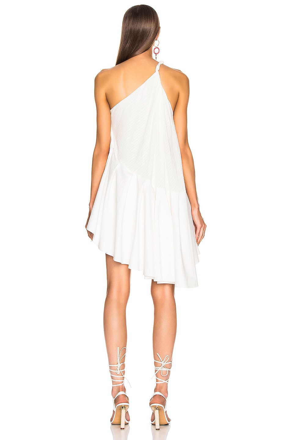 Image 4 of JACQUEMUS Affi Dress in Off White