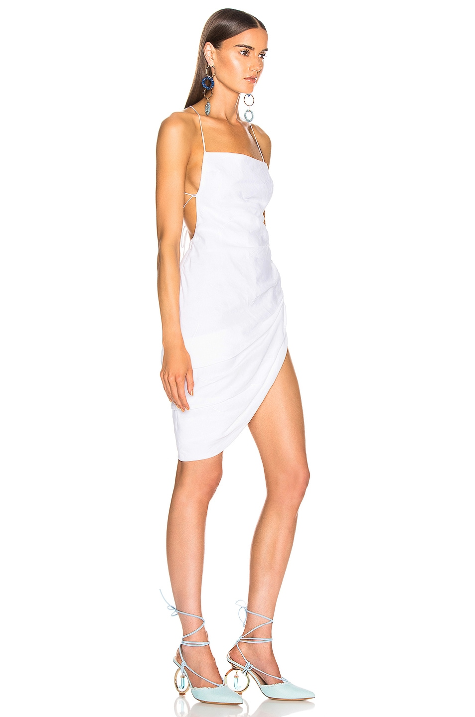 Image 2 of JACQUEMUS Saudade Dress in Optic White