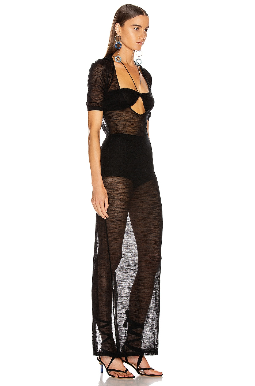 Image 2 of JACQUEMUS Piana Longue Dress in Black