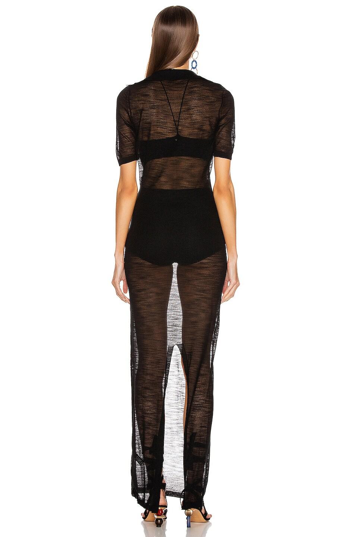 Image 3 of JACQUEMUS Piana Longue Dress in Black