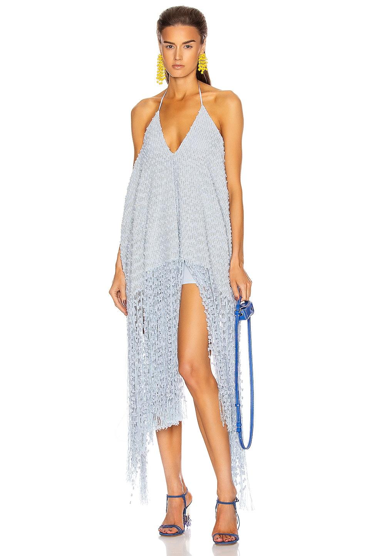 Image 1 of JACQUEMUS La Robe Riviera in Light Blue