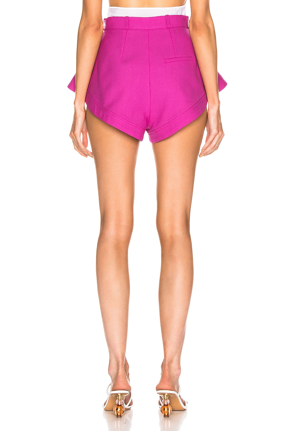 Image 3 of JACQUEMUS Rosa Short in Pink