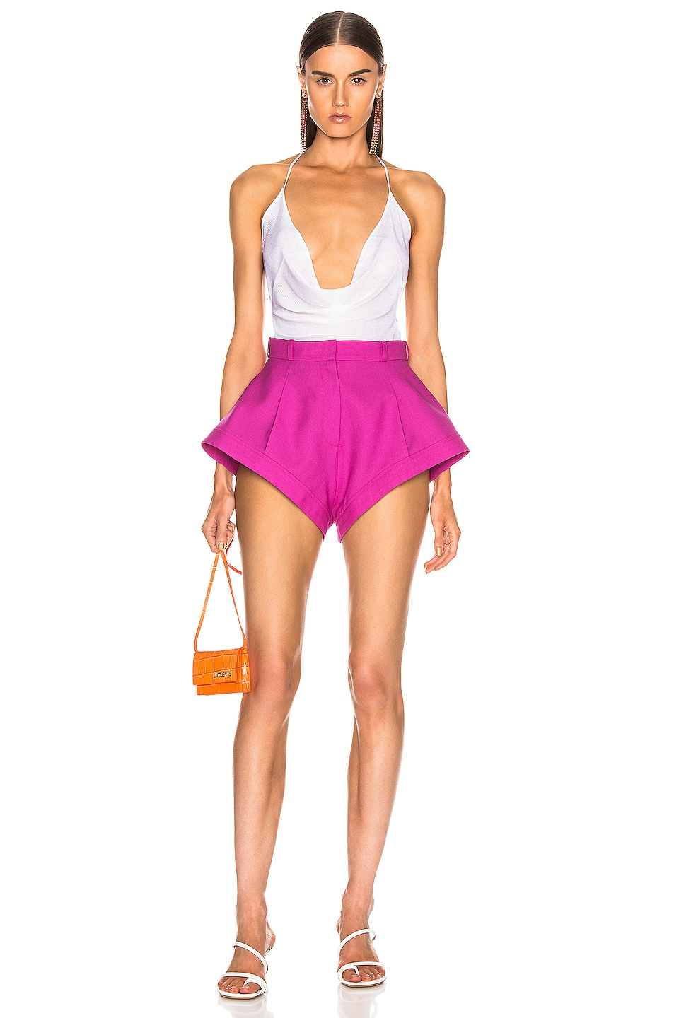 Image 4 of JACQUEMUS Rosa Short in Pink