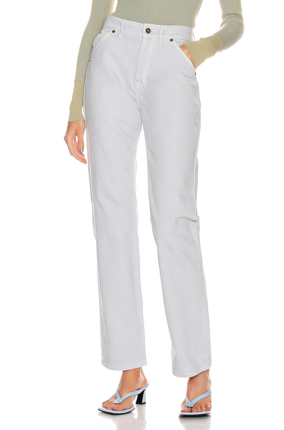 Image 1 of JACQUEMUS Le Jean in Light Grey