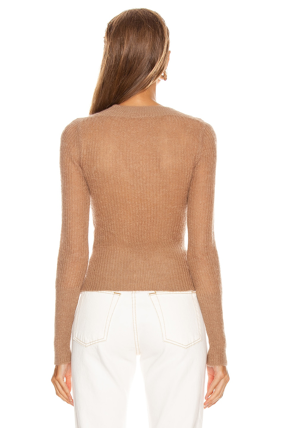 Image 3 of JACQUEMUS Dao Sweater in Camel
