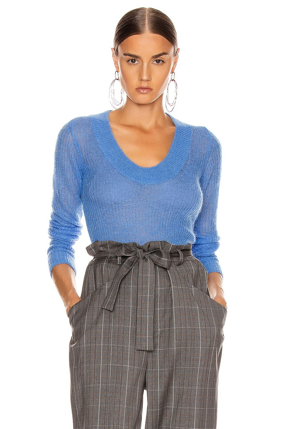Image 1 of JACQUEMUS Dao Sweater in Blue