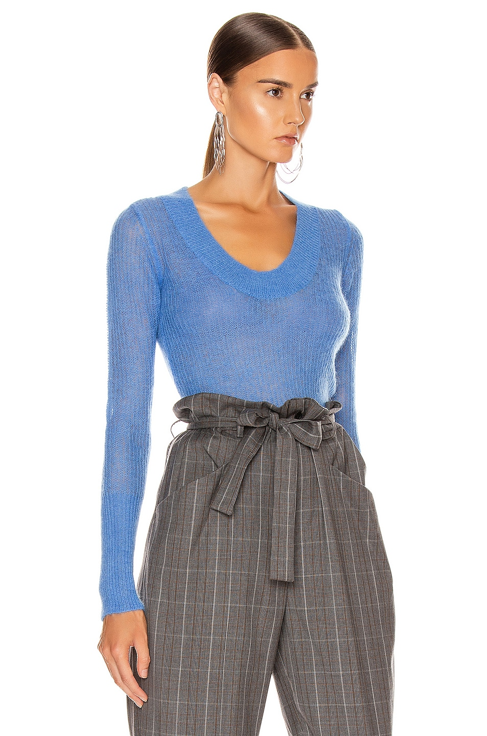 Image 2 of JACQUEMUS Dao Sweater in Blue