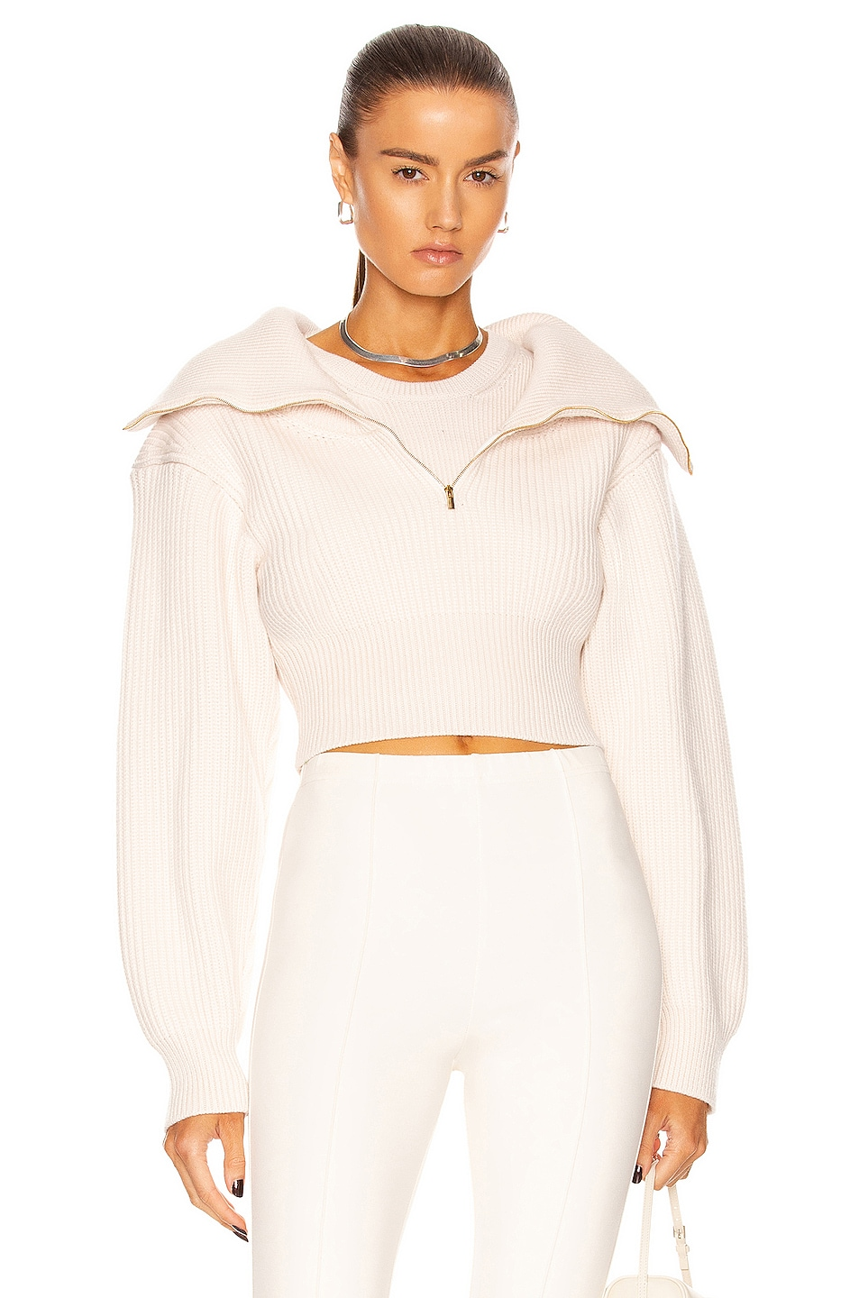 Image 1 of JACQUEMUS La Maille Risoul in Off-White