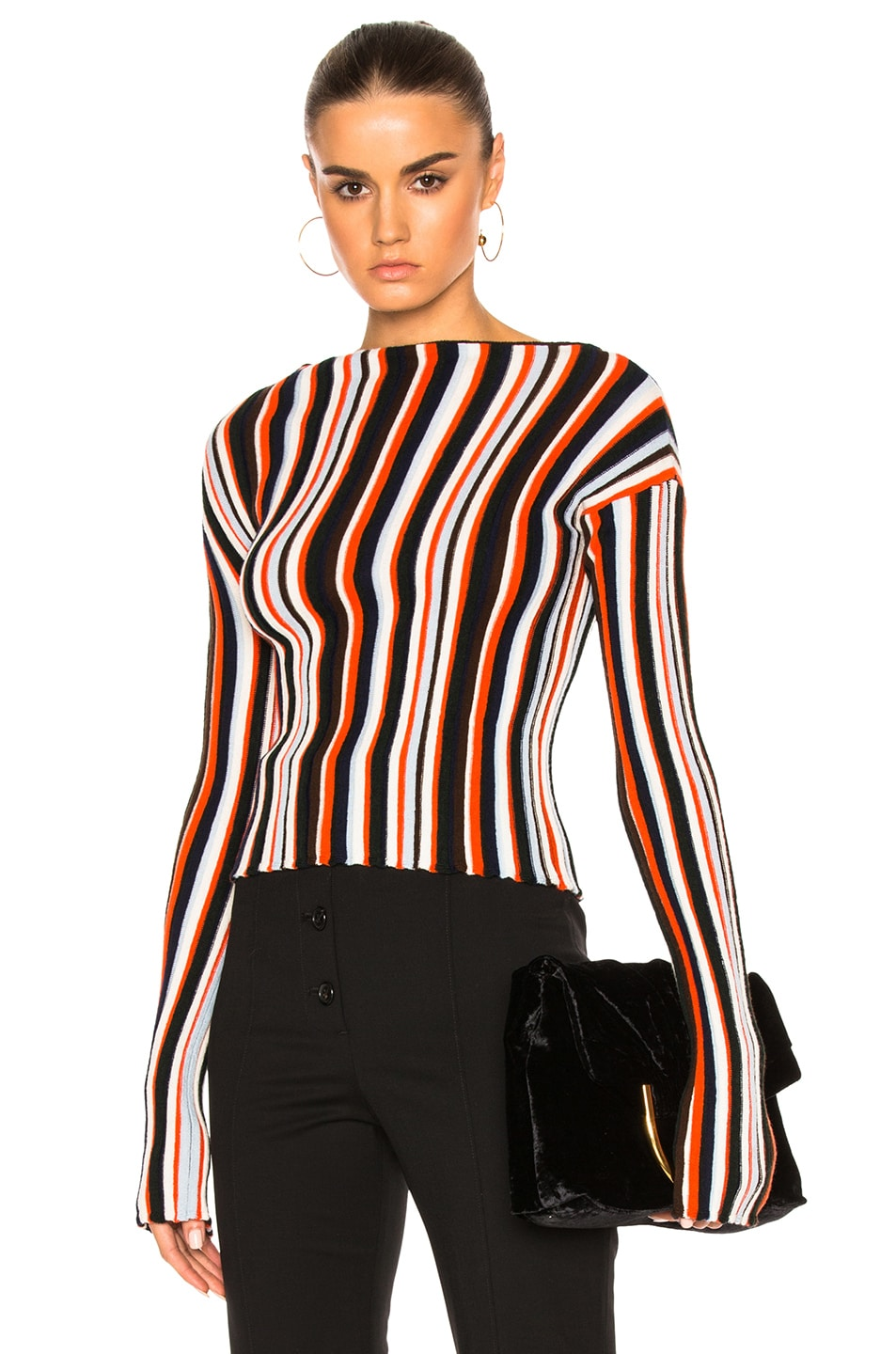 Image 1 of JACQUEMUS Striped Sweater in Multi