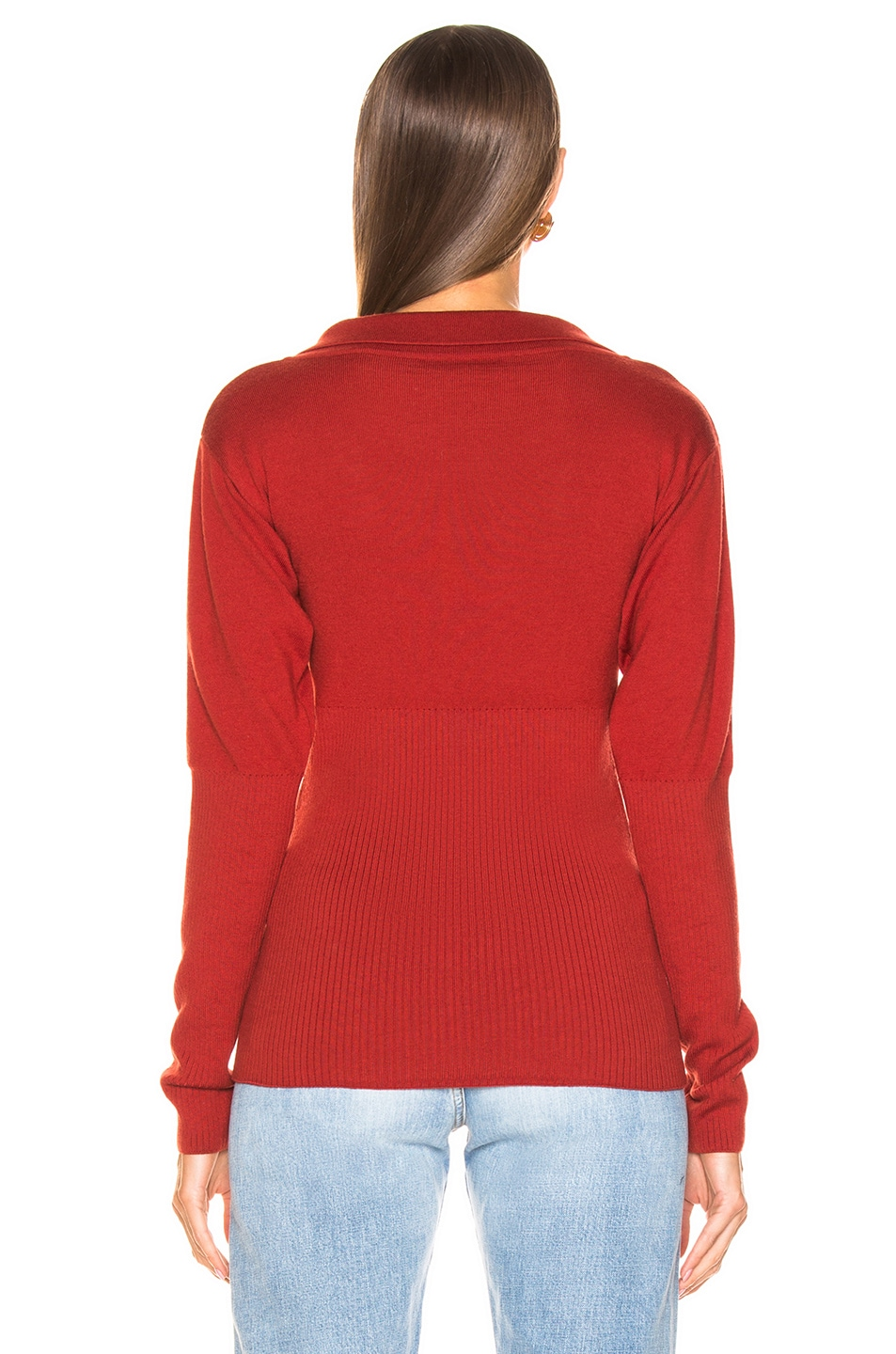 Image 3 of JACQUEMUS Praio Sweater in Red