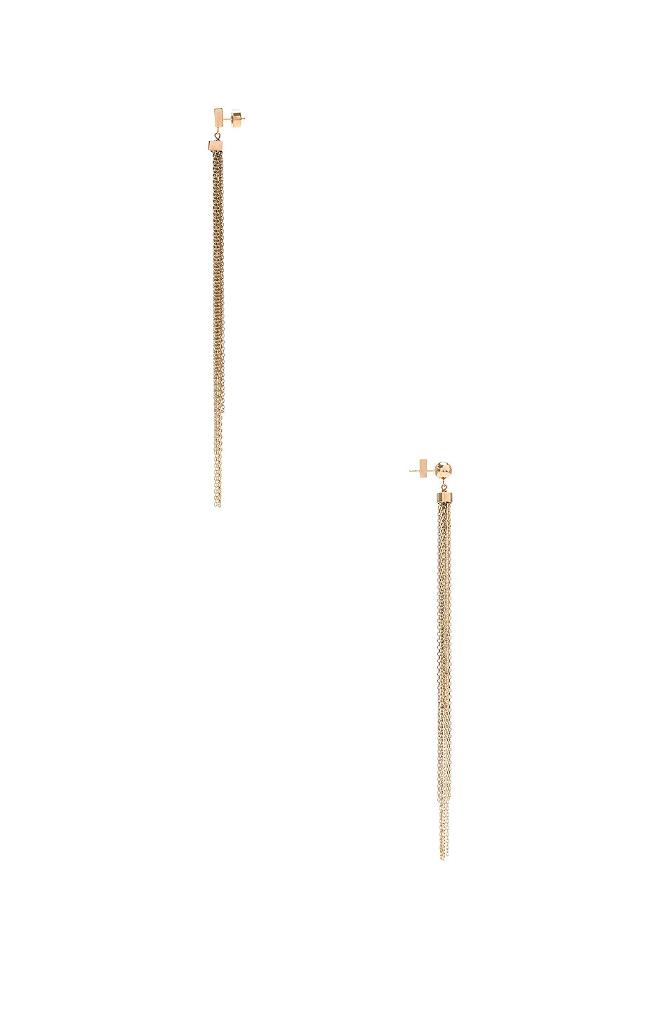 Image 3 of JACQUEMUS Aya Earrings in Gold