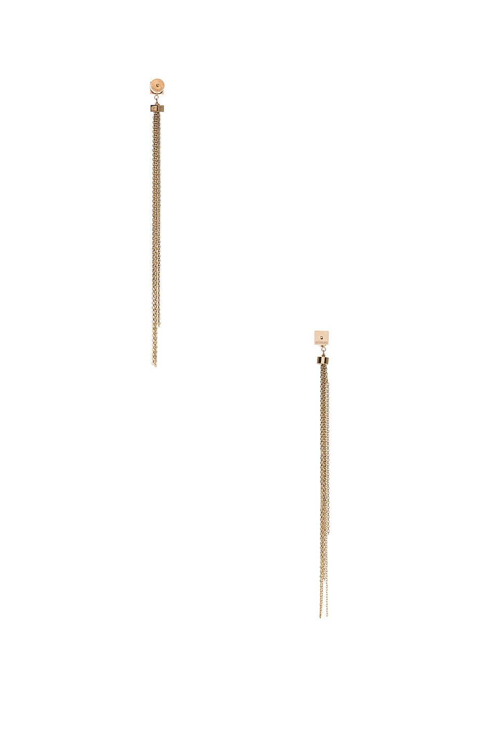 Image 4 of JACQUEMUS Aya Earrings in Gold
