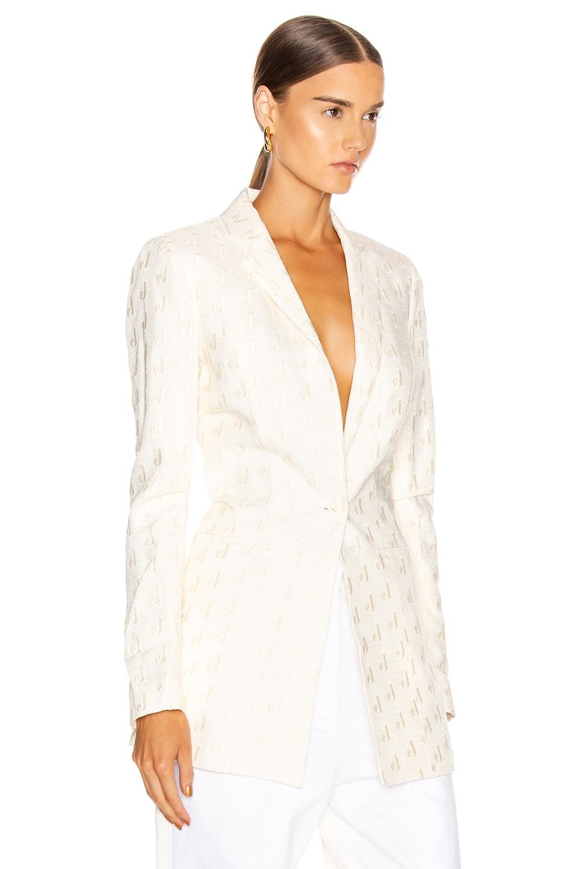 Image 2 of JACQUEMUS Bergamo Jacket in Off White