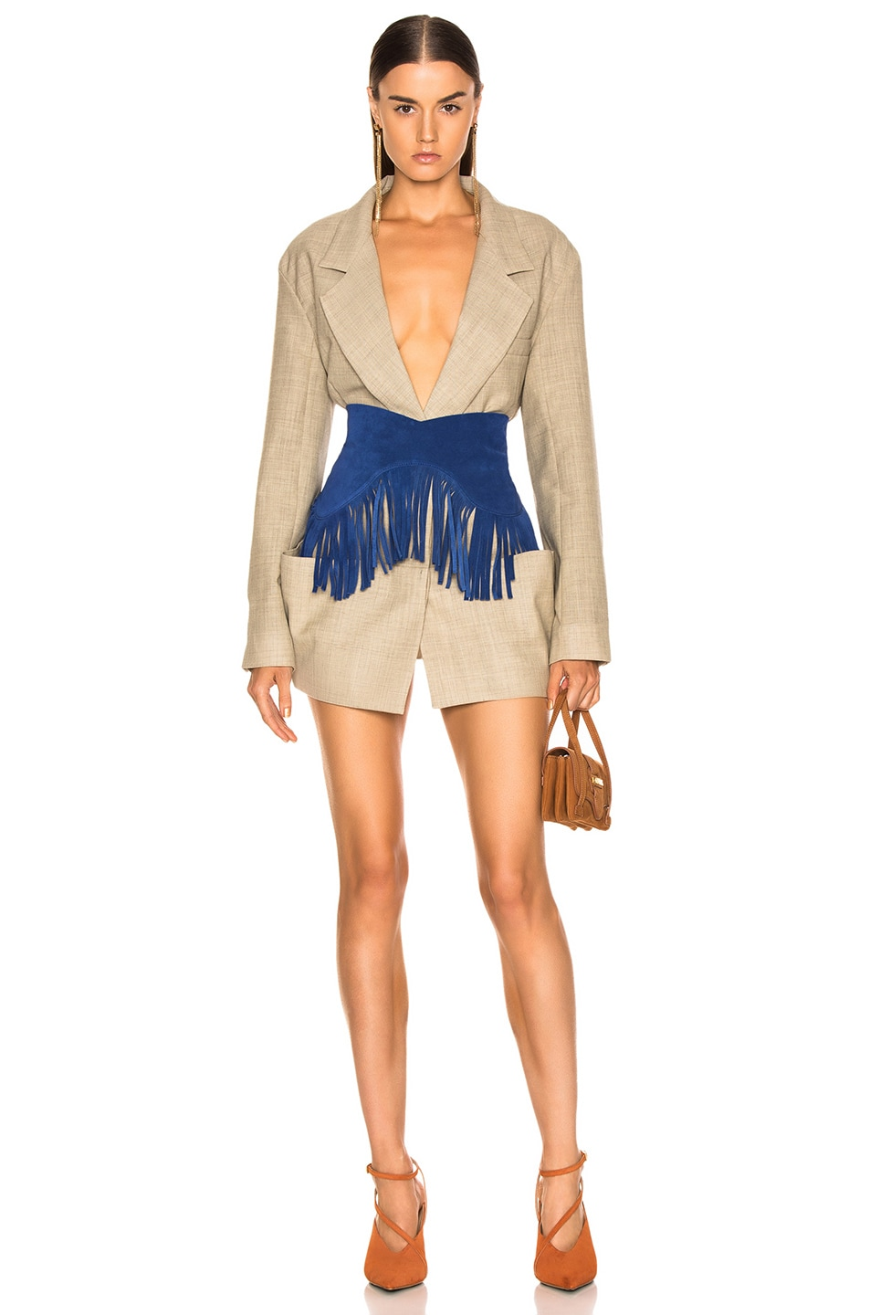 Image 1 of JACQUEMUS Saafi Jacket in Beige