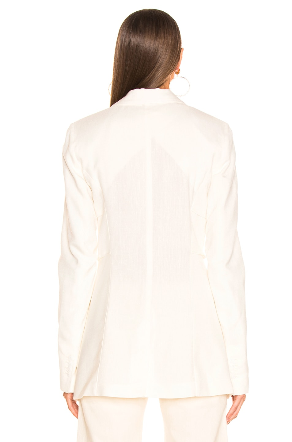 Image 3 of JACQUEMUS Bergamo Jacket in Off White