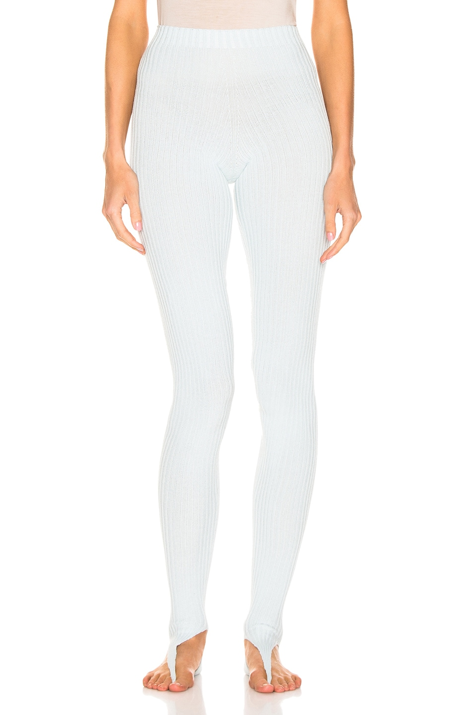 Image 2 of JACQUEMUS Tights in Light Blue