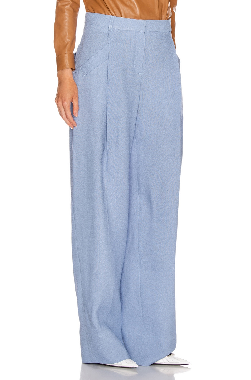 Image 2 of JACQUEMUS Loya Pant in Light Blue
