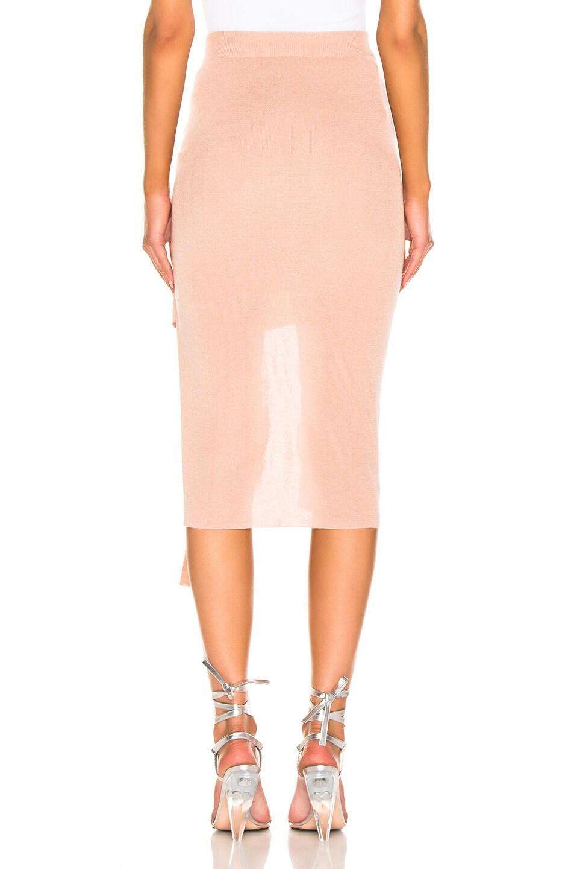 Image 4 of JACQUEMUS Lodosa Skirt in Dark Nude