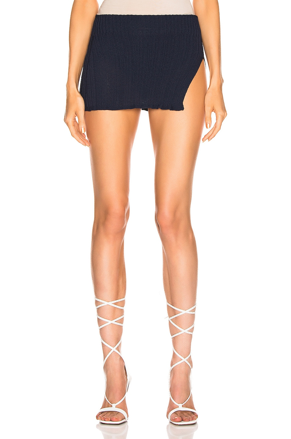 Image 1 of JACQUEMUS Sanremo Skirt in Navy