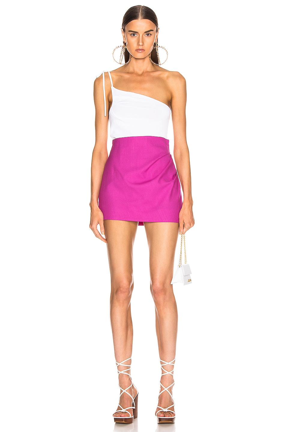 Image 5 of JACQUEMUS Bambola Skirt in Pink