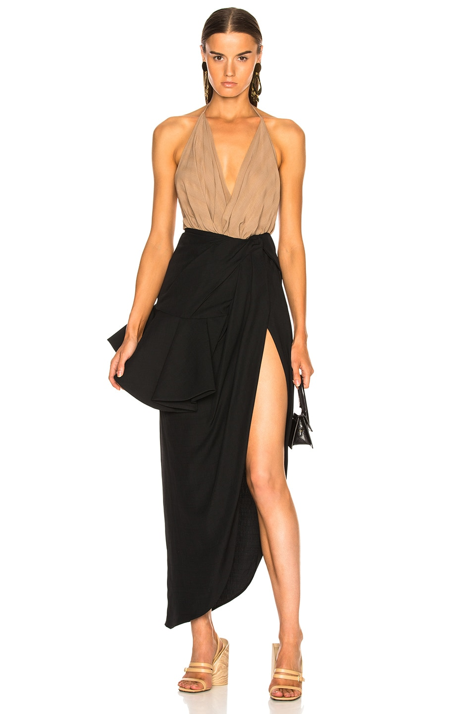 Image 5 of JACQUEMUS Sol Skirt in Black