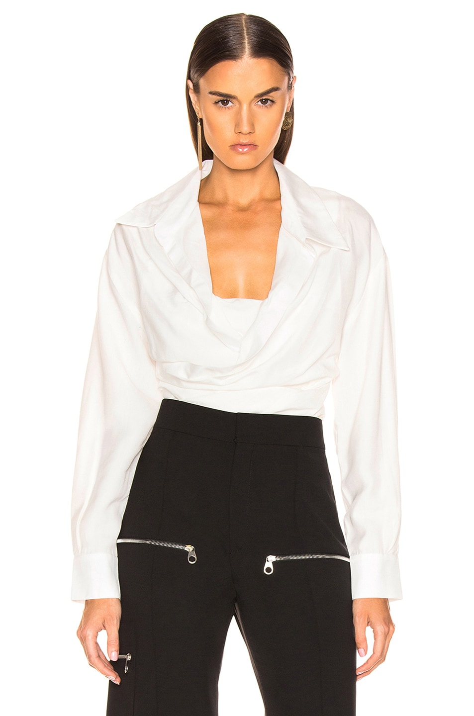 Image 1 of JACQUEMUS Ourika Top in Off White