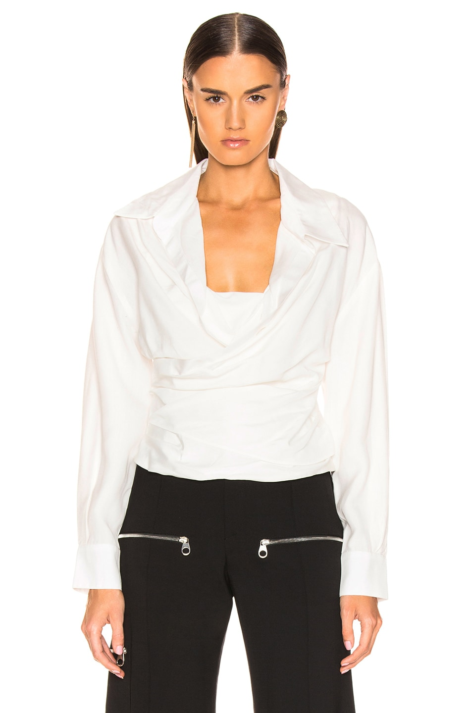 Image 2 of JACQUEMUS Ourika Top in Off White