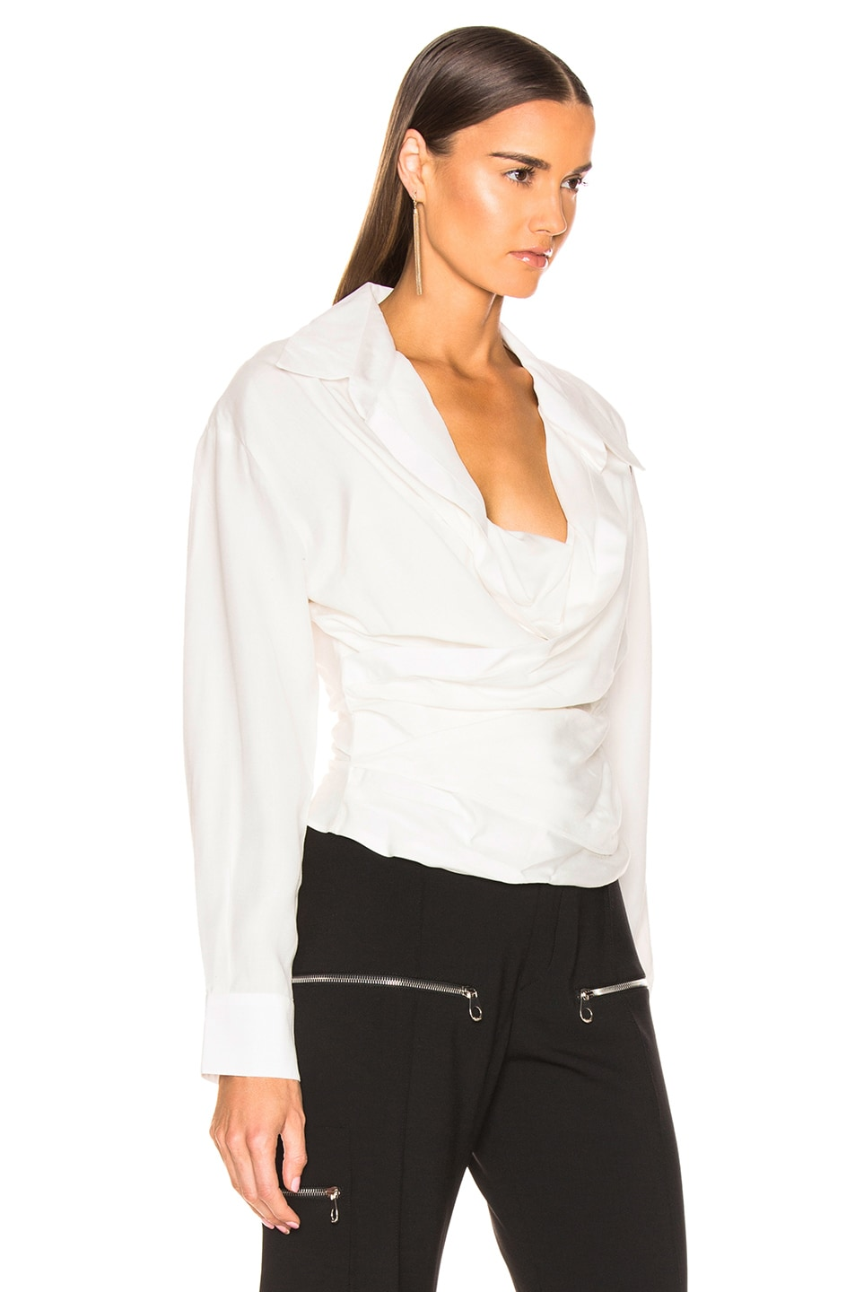 Image 3 of JACQUEMUS Ourika Top in Off White