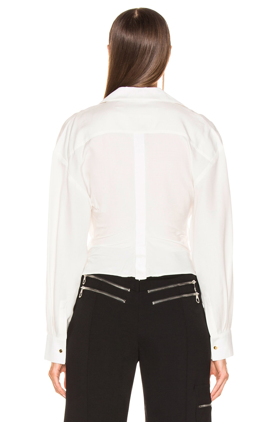 Image 4 of JACQUEMUS Ourika Top in Off White