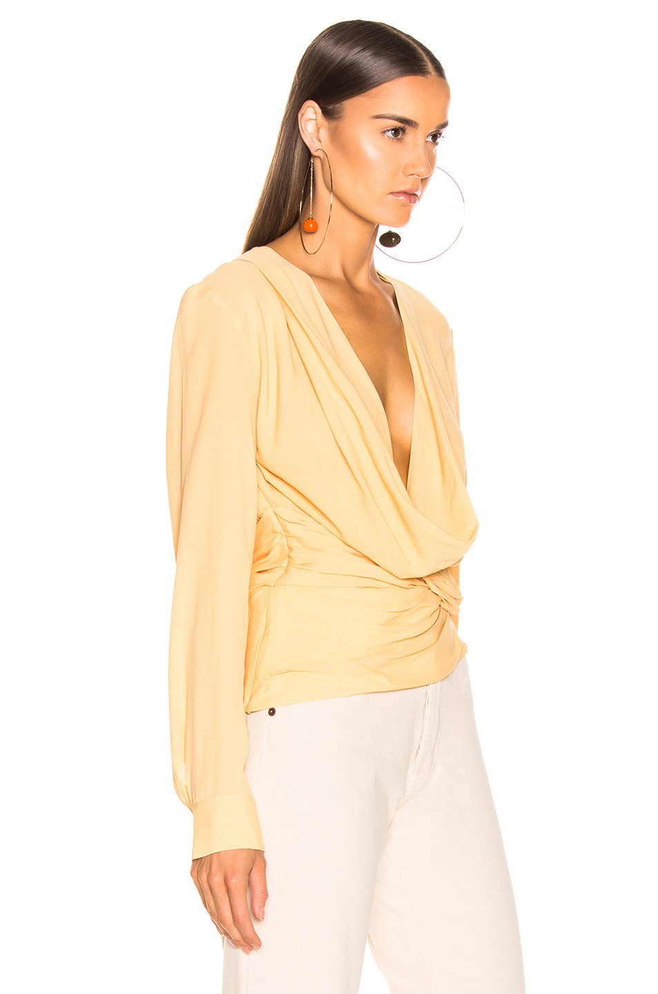 Image 2 of JACQUEMUS Anil Top in Pale Yellow