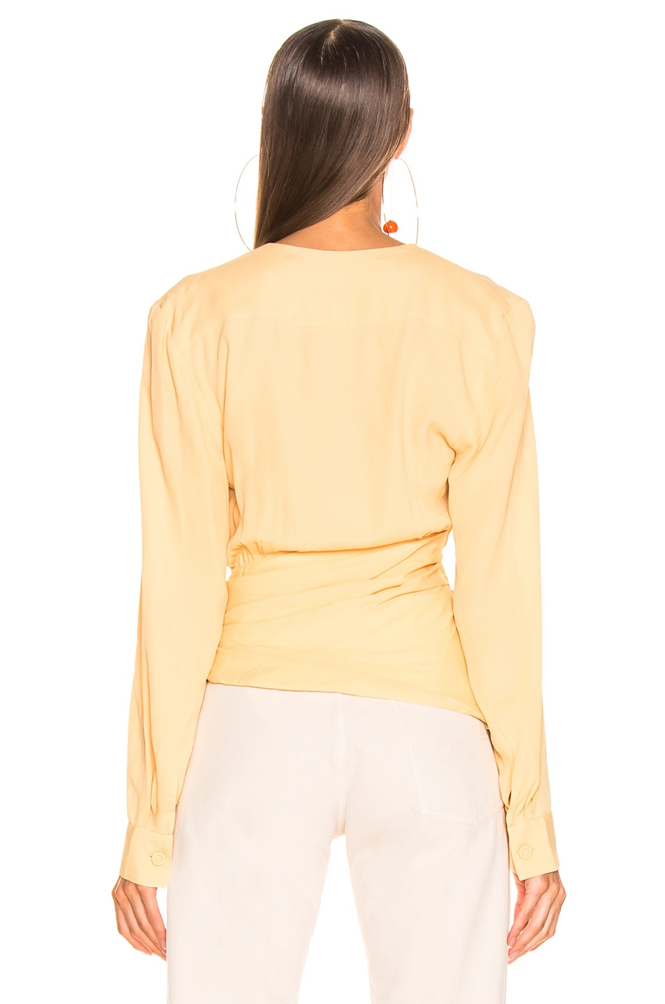 Image 4 of JACQUEMUS Anil Top in Pale Yellow