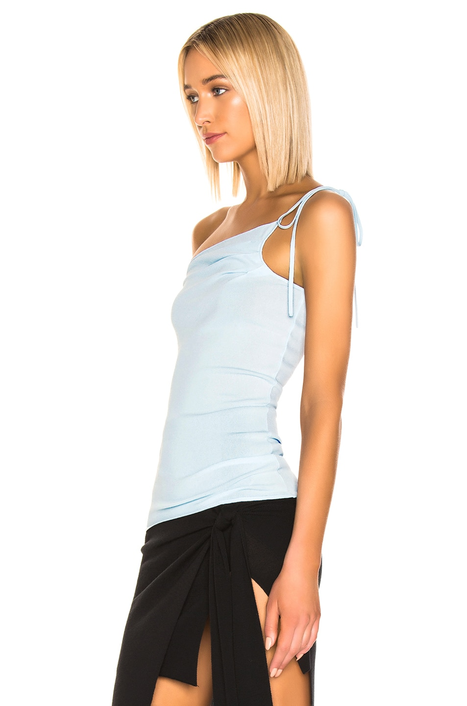 Image 3 of JACQUEMUS Asti Top in Baby Blue