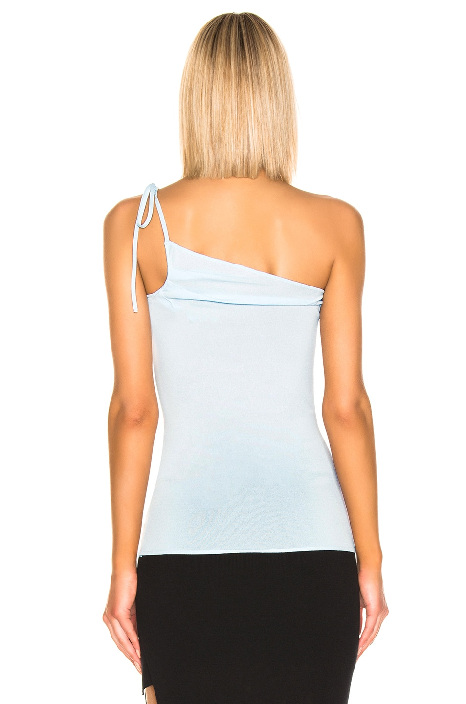 Image 4 of JACQUEMUS Asti Top in Baby Blue