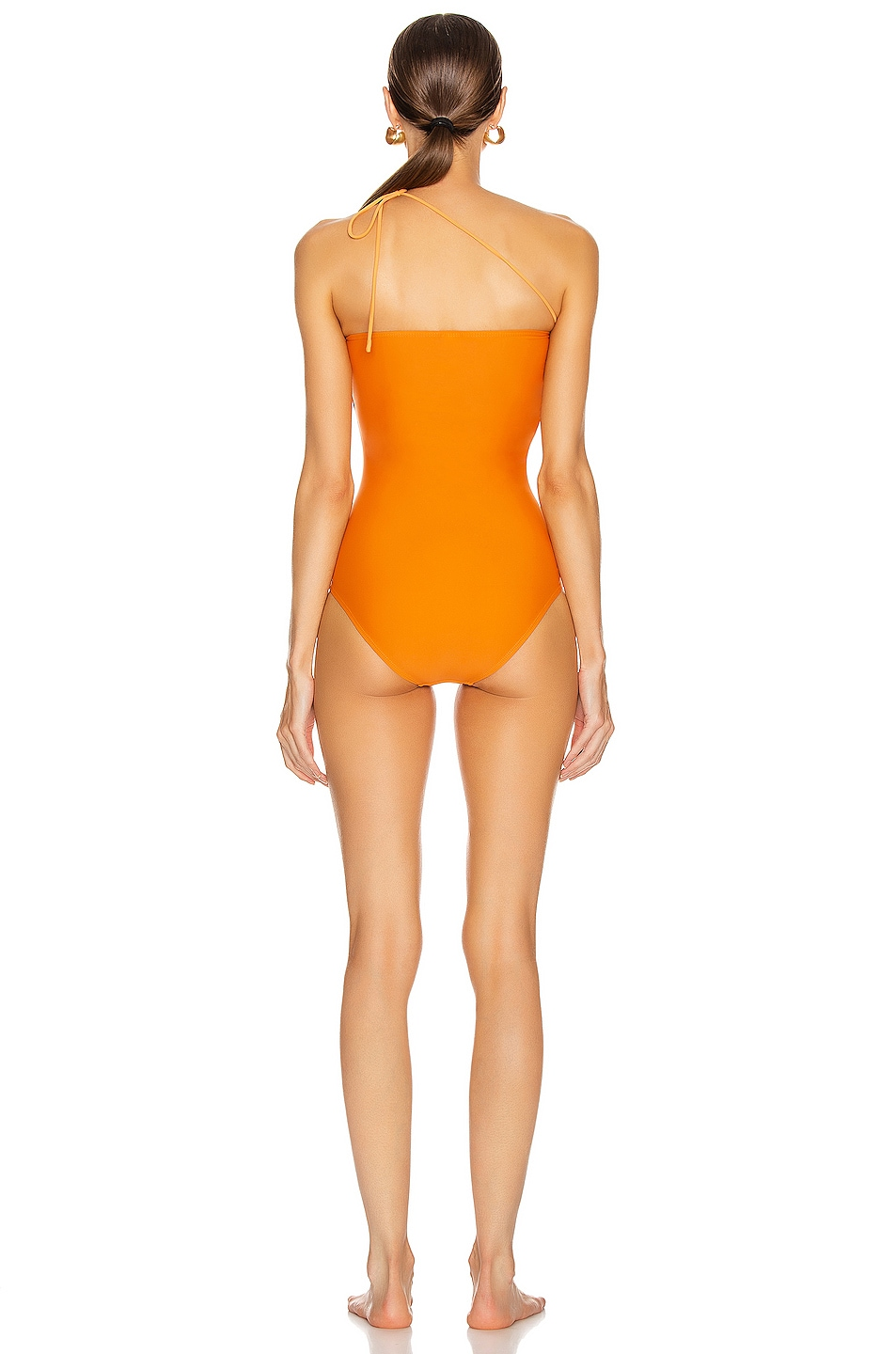 Image 4 of JACQUEMUS Alassio Swimsuit in Orange
