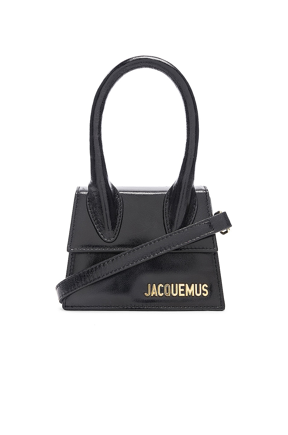 Image 1 of JACQUEMUS Le Sac Chiquito in Black Leather