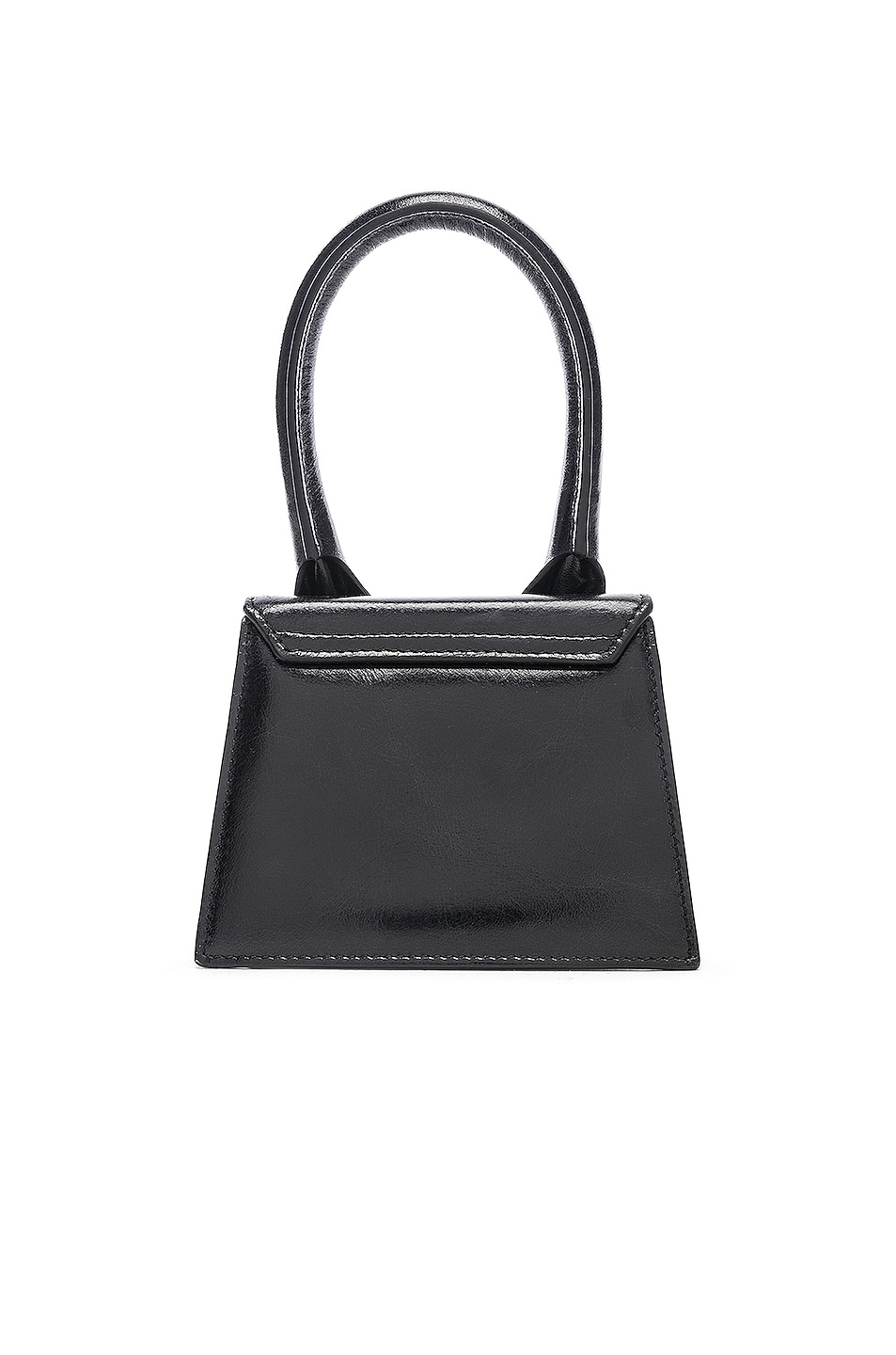 Image 3 of JACQUEMUS Le Sac Chiquito in Black Leather