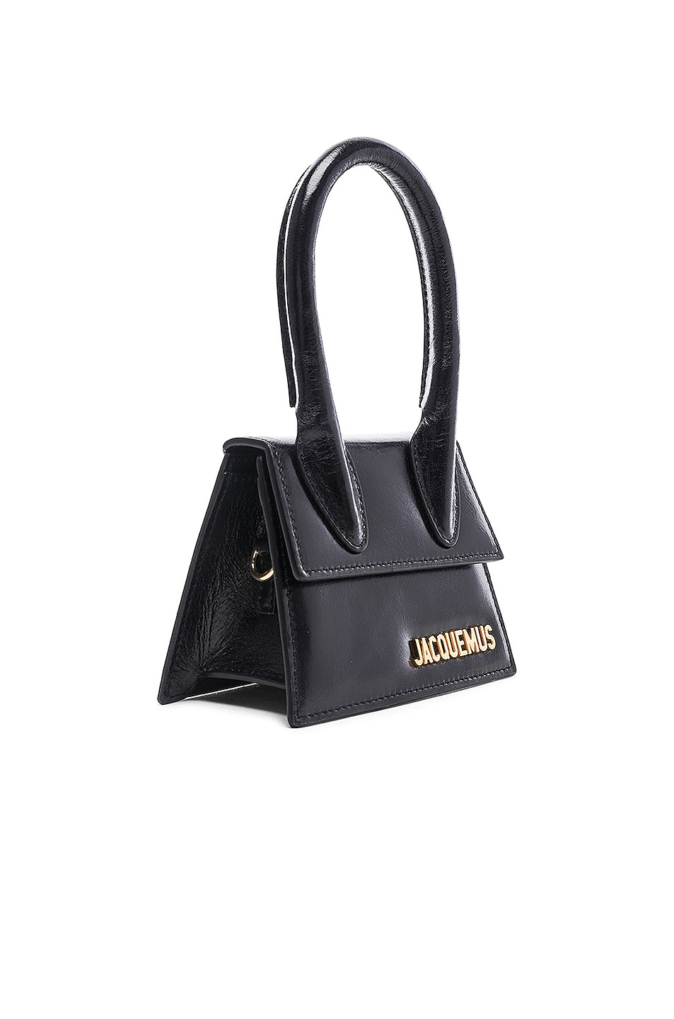 Image 4 of JACQUEMUS Le Sac Chiquito in Black Leather