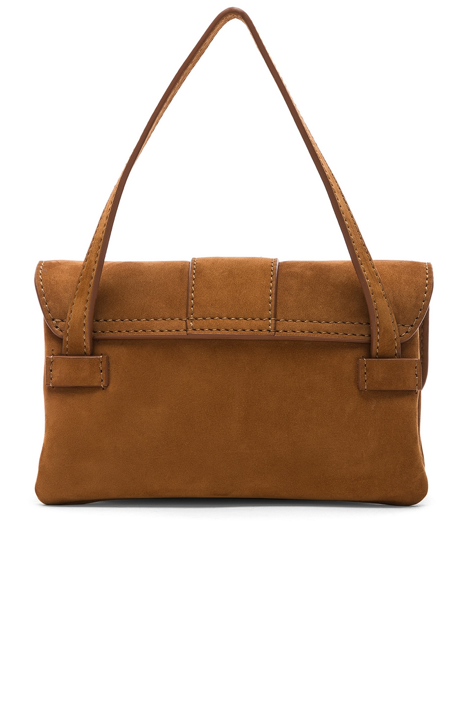 Image 3 of JACQUEMUS Le Minho Bag in Camel Nubuck