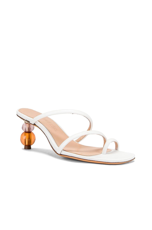 Image 2 of JACQUEMUS Noli Sandals in White